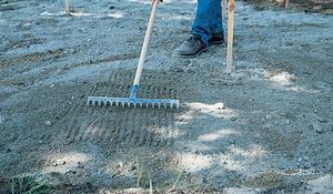 KROK V - Nakładanie podsypki cementowo-piaskowej