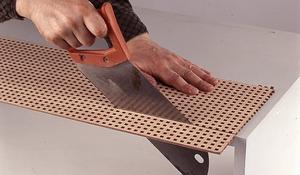 KROK I - Wycinanie elementów z płyty fornirowanej