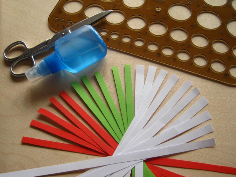 Krok I Wycinanie Papierowych Pasków Zdjęcie Zrobiszsampl